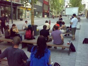 Sessionplanung auf offener Straße, Bildquelle: @hirnrinde (http://img.ly/1CmQ)